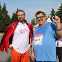 Омский марафон собрал Кручинского, Корбута, Сумарокова и других известных омичей