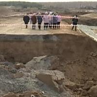 Жители села Саратово остались без хлеба из-за обвалившейся дороги