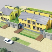В пригороде Омска построят комплекс таунхаусов