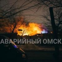 В пожаре на Шебалдина в Омске есть погибший