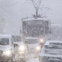 Московский снегопад