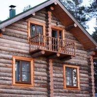 Преимущества домов, построенных из сухостоя карельской сосны кело