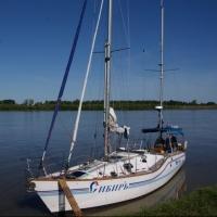 Три омские яхты возвращаются домой из дальнего плавания