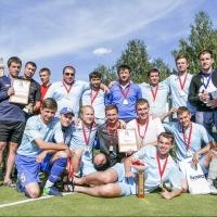 Команда «Ростелекома» стала чемпионом летнего сезона Омской корпоративной футбольной лиги