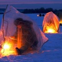 Как выбрать палатку для зимней рыбалки?