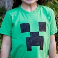 Яркие футболки для фанатов Майнкрафт