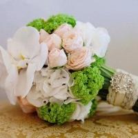 Составление свадебного букета