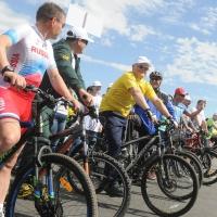 На «ВелоОмске» Виктор Назаров проехал 10 километров