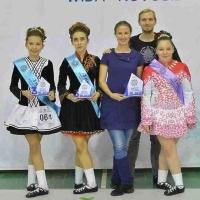 Омичка стала победительницей чемпионата Сибири по ирландским танцам
