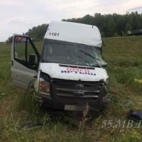 Водитель маршрутки, в которой под Омском погибло два пассажира, может на 7 лет лишиться свободы