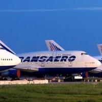 В Омске отменены два рейса компании «Трансаэро», запланированные на 12 октября