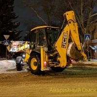 Порыв в центре Омска коммунальщики устранили