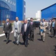 Открытие омского стекольного завода
