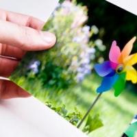 Печать цветных фотографий