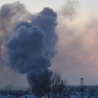 В Омской области во время пожара сгорели два человека