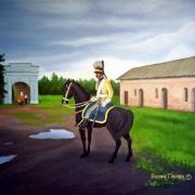 В Омской крепости можно посмотреть фильм и прикоснуться к доспехам джунгар