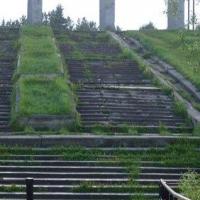 На восстановление лестницы в Советском парке Омска необходимо 50 млн рублей