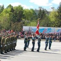 В центре Омска для репетиции парада перекроют дороги