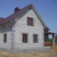 Современные проекты домов из пеноблока