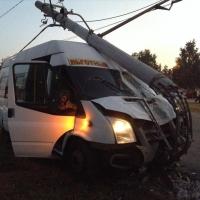 В результате аварии с участием маршрутки пострадали 4 омича