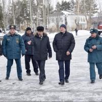 Омскую область проверили на готовность к паводку