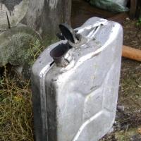 В Омской области мужчина хотел сжечь себя на глазах у жены