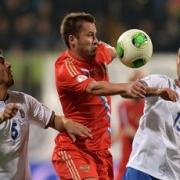 Сборная России вышла на чемпионат мира по футболу