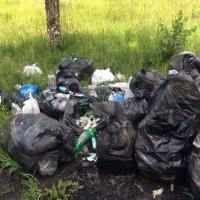 Полигон в Омском районе прекращает прием мусора