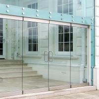 Стеклянные двери – идеальное решение
