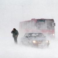 Омских водителей предупредили о плохой видимости на дорогах