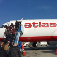 Авиакомпания Atlasglobal стала партнером Омского аэропорта