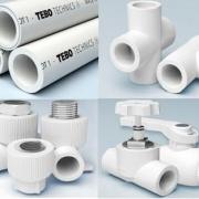 Пластиковый водопровод