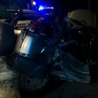 Омич чудом выжил, когда машину занесло в столб на Хмельницкого