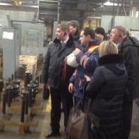 Омская делегация посетила Петербургский тракторный завод