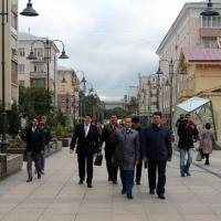 Делегация из Казахстана оценила омскую улицу Валиханова