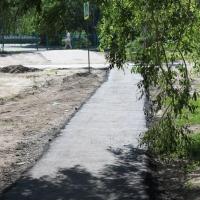 Еще 32 тротуара отремонтируют за лето в Омске