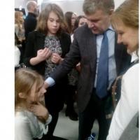 На открытии Исторического парка глава омского Минздрава спас девушку
