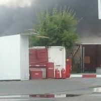 Огонь на территории заправки в Омске ликвидирован силами МЧС
