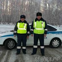 На трассе в Омской области ДПС задержала преступников