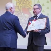 Бурков поздравил Общественную палату Омской области с 10-летием