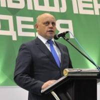 Леонид Полежаев пришел на открытие омской агровыставки с Виктором Назаровым