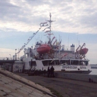 В Омске на Иртыше торжественно открыли навигацию