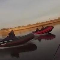 Рыбаки устроили массовую аварию на Иртыше