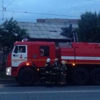 Пожар в Большеречье: четверо погибли