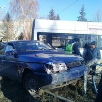 Пьяный омич устроил ДТП на улице Химиков и скрылся
