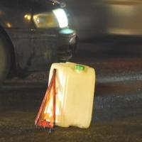 На омской трассе в сторону Марьяновки сбили пешехода