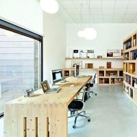 Офис в скандинавском стиле