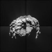 Зонд Rosetta сфотографировал комету Чурюмова-Герасименко с шести километров