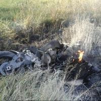 В результате ДТП в Омском районе  погиб байкер