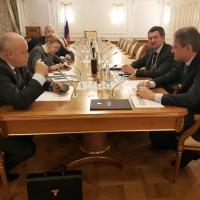 Виктор Назаров рассказал министру сельского хозяйства о модернизации компании «Омский бекон»